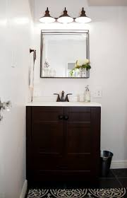 Industrial Style Bathroom Vanity Farmhouse Bathroom Update On What I Wore
