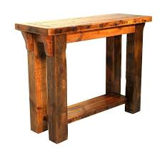 salvaged wood console table reclaimed wood sofa table console table reclaimed wood metal legs