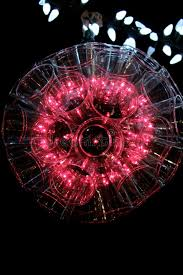 reddish pink sparkle ball light stock photo image 61583233