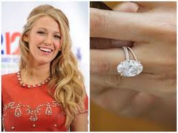 Blake Lively Wedding Ring by Blake Lively Flawless Light Pink Oval Set In Rose Gold With