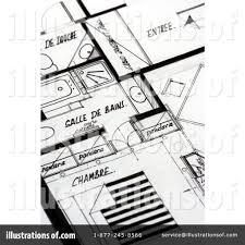floor plan clipart blueprints clipart 79320 illustration by frank boston