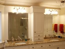 bathroom lighting ideas double vanity intended decorating