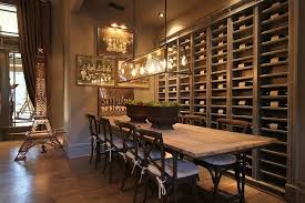 Restoration Hardware Bar Table A Craftsman Staged Like A Restoration Hardware Catalog Hooked On
