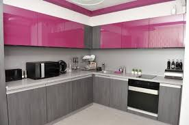 pink kitchen ideas pink kitchen decorating ideas white polished duco glosy table brown
