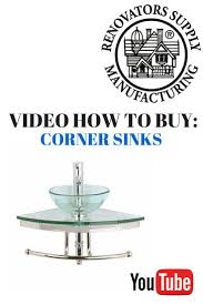 Corner Sinks 86 Best Corner Sinks Images On Pinterest Bathroom Sinks Faucets
