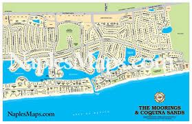 Map Of Naples Florida by Map The Moorings U0026 Coquina Sands Customized Sample Naples Florida