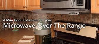 microwave with extractor fan microvisor microwave range hood system microvisor hood