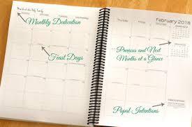 Liturgical Desk Calendar 2018 Monthly Catholic Planner Catholic Liturgical Calendar