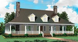 one country house plans bold idea one country house plans with front porch 8