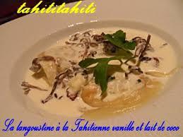 cuisine tahitienne recettes 1646 ma recette du jour la langoustine à la tahitienne vanille et