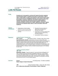 Resume Header Template Example Of Teacher Resume Teachers Resume Example Best 25 Teacher