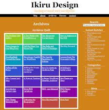 different shades of purple names kaleidoscope the color changing wordpress theme ikiru design