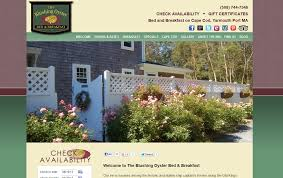 new website for the blushing oyster bed u0026 breakfast