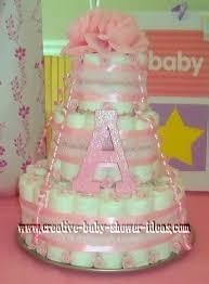 diaper cake photos and preparation tips