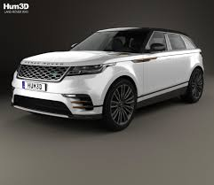 land rover evoque custom land rover range rover velar 2018 3d model hum3d