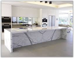 marble kitchen islands calacatta marble kitchen island home design ideas