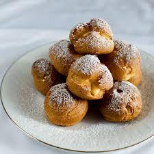 cuisine choux choux à la crème puffs profiteroles