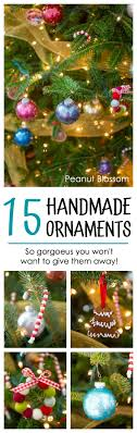real handmade ornaments for your real tree