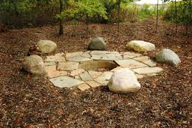 Rustic Firepit Rustic Pit Wood Burning Pit Outdoor Fireplaces Pits