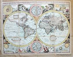 The Best Map Of The World by A New And Accurat Map Of The World Drawne According To Ye Truest