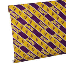 where can i buy wrapping paper los angeles lakers gift bags wrapping buy lakers wrapping