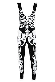womens skeleton jumpsuit sofias closet womens skeleton bones jumpsuit catsuit all in one