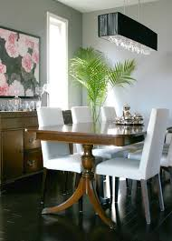 antique table with modern chairs mixing styles duncan phyfe table with more modern chairs