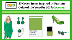15 green items inspired by pantone color of the year for 2017