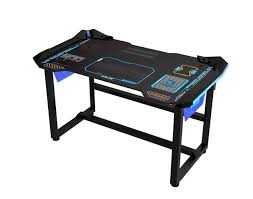Buy Gaming Desk E Blue Wireless Glowing Gaming Desk Buy Now At Mighty Ape Nz