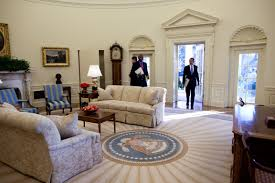 historic photo obama enters the oval office for maybe the
