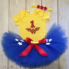 halloween 1st birthday wonder woman costume 1st birthday tutu dress baby birthday