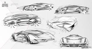 car ferrari drawing ferrari getto concept design sketches sketches pinterest