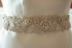 wedding sashes and belts wedding sash belt flora 27 5 to 28 inches by millie icaro