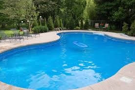Backyards With Pools by Cool Home Exterior Design With Modular Curved Swimming Pools In