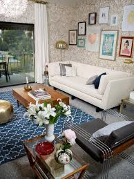 Living Room Ideas Gold Wallpaper Photos Secrets From A Stylist Hgtv