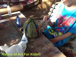 pumpkin painting project for young kids official blog for