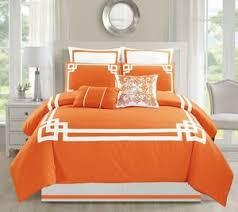 Orange Comforter Comforter Sets