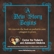 a new story begins winter garden pediatric practice now open