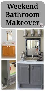 easy bathroom makeover ideas best 25 bathroom makeovers ideas on small bathroom
