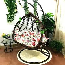rattan hanging chair island bay resin wicker rib hanging egg chair