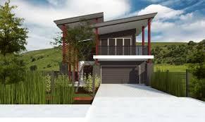Narrow Block Home Designs Of Nifty Narrow Block Home Designs With - Narrow block home designs