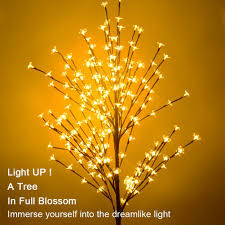 lighted tree ucharge cherry blossom led