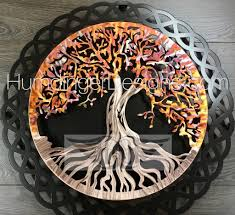 tree of in copper with celtic knot humdinger designs