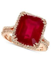 gemstone rings ruby images Sapphire or ruby halo or 3 stone jpg