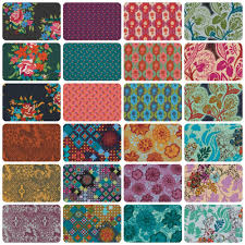 Anna Maria Horner Home Decor Fabric Anna Maria Horner Dresden Bulbs Pond Dowry Collection Free