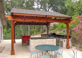pergola outdoor kitchen covered pergolas for an outdoor kitchen
