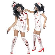 Womens Ghost Halloween Costumes Cheap Halloween Costumes Bloody Nurse Aliexpress