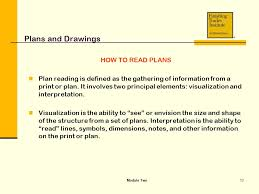 How To Read Dimensions Module Two Plans And Drawings Ppt Video Online Download