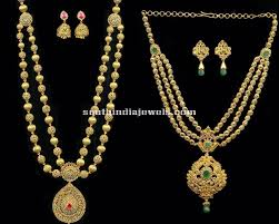 long necklace designs images Gorgeous 8 latest long necklace designs 2015 south india jewels jpg