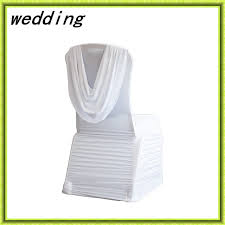 Cheap Spandex Chair Covers For Sale Aliexpress Com Buy 1 Pcs White Chair Cover Spandex Chair Cover